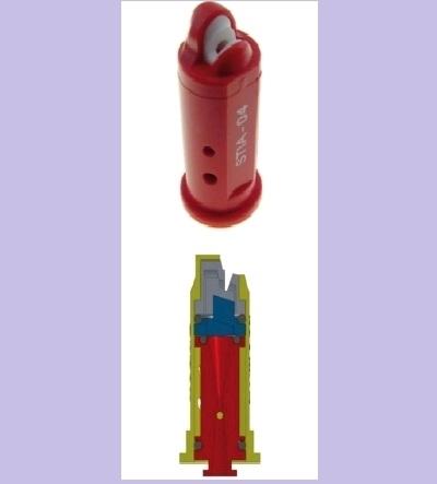Распылитель Geoline ST-IA 140-025 фиолет. (керам.) - фото 14072