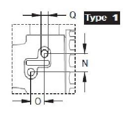 "Кран 2х ходовой; тип ручки LL; крепление TYPE 1; вх.-вых.Г1""1/4 - фото 14627"