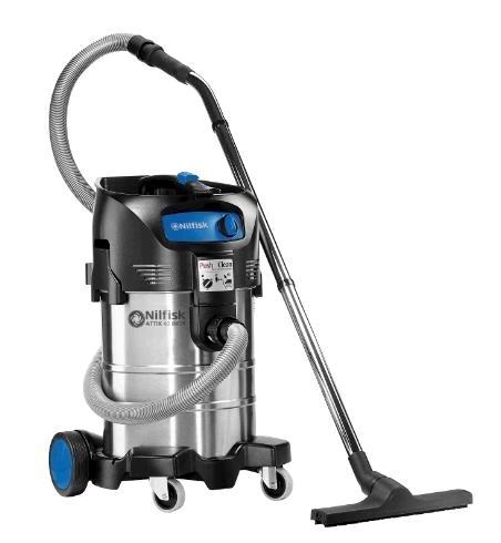 Пылесос для сухой и влажной уборки Nilfisk ATTIX 40-01 PC INOX - фото 4977