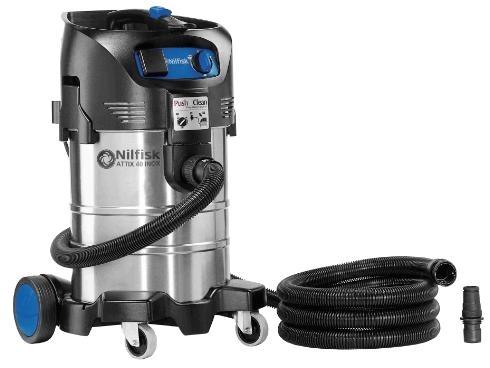 Пылесос для сухой и влажной уборки Nilfisk ATTIX 40-21 PC INOX - фото 4985