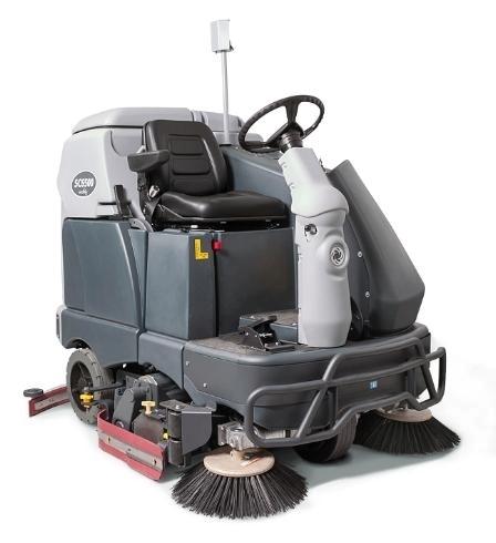 Поломоечная машина с сиденьем для оператора Nilfisk SC6500 1300C - фото 5182