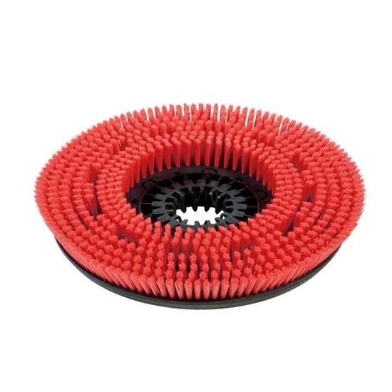 Дисковая щетка, средний, красный, 430 mm - фото 7845