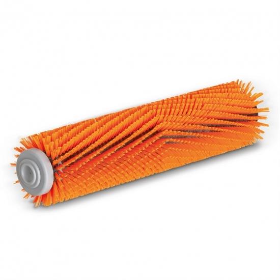 Цилиндрическая щетка, высокий/низкий, оранжевый, 300 mm - фото 8623