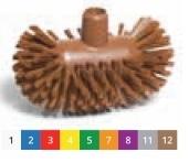 Щётка моющая для резервуаров - средней жесткости 200х120 мм., желтый