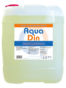 Средство с дезинфецирующим эффектом  AquaDin 1л (товар)