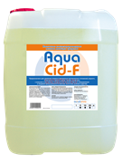 Кислотное пенное моющее средство  AquaCid-F 1л (товар)