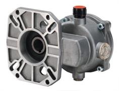 """Редуктор B18 для двигателей внутреннего сгорания 11-18 л.с. вал дв. 25 мм - 0,984"""" вал насос 24 мм"""