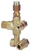Регулировочный клапан VB 75; 3/8 х1/2  для Comet FW - RW,  AR Serie RK 30 л/мин 250 бар