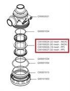 Фильтрующий элемент 18 меш, корич.(PP)