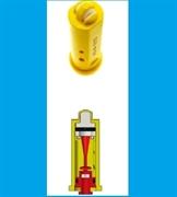 Распылитель Geoline AD-IA/D 110-03.D син. (керам.) с подачей воздуха