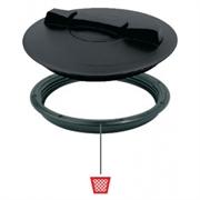 Крышка d=350 + кольцо (без прокладки) 2