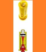 Распылитель Geoline AD-IA/D 110-01.D оранж. (керам.) с подачей воздуха
