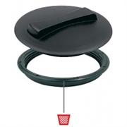Крышка d=350 + кольцо без прокладки