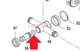 Кольцо 3,53х21,82 насоса BP40/60 - P (1х3)