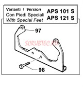 2400008300 Кронштейн специальный насоса APS101 - APS121