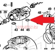 1210014500 Кольцо крышки 2,62х28,25 насоса APS