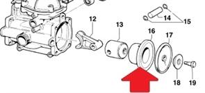 Цилиндр поршня d45 насоса MC (1х2)