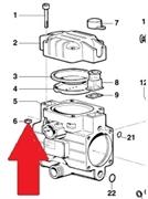 Гайка корпуса насоса BP20 - MP20 (1х4)