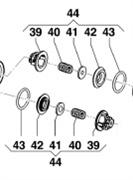 Клапан в сборе насоса APS31 - APS41 (1х6)