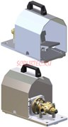Педаль с ножным управлением RF 120/280 120 л/мин  3/4 Bsp (Г) -3/4 Bsp (Г)
