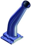Держатель пистолета пластиковый синий Д50