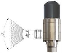 Насадка для мойки поверхностей А42-FR2 с гидроприводом; 30 л/мин; 40-160 бар; .(нерж).вход 1/2г.
