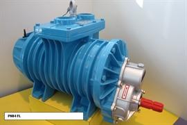 Насос вакуумный JUROP PN 84М, 1000 об/мин, правое вращение, ручной клапан