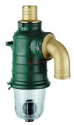 Второй запорный клапан, 50 мм, изогнутый сифон