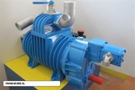 Насос вакуумный JUROP PN 106, 1000 об/мин, правое вращение, ручной клапан