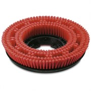 Щетка дисковая, красного цвета, средний, красный, 385 mm