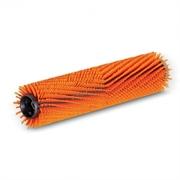 Цилиндрическая щетка, высокий/низкий, оранжевый, 400 mm