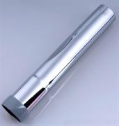 Всасывающая труба, стальная, хромированная 200 mm / O 32 mm