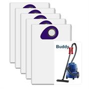 Комплект пылесборников для Nilfisk Buddy II, 5 шт