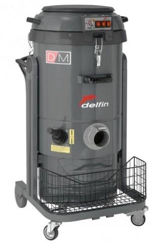 ТРЕХМОТОРНЫЙ ПРОМЫШЛЕННЫЙ ПЫЛЕСОС DELFIN DM 3 TUVH с микро очисткой токсичной пыли - фото 10531