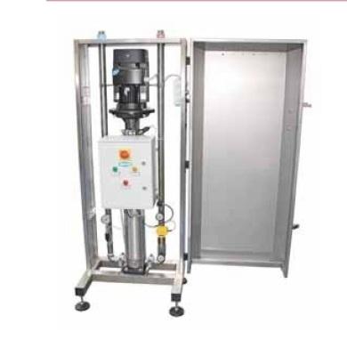 Моечная центробежная система Hydra 40/75 с преобразователем, на 3 оператора, 75 л/мин, 40 бар - фото 11622