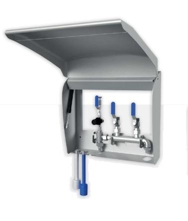 Сателлит пена-смыв HC 35-B, централизованный 40 бар, вход 3/8 ш, выход 1/2 г - фото 12071