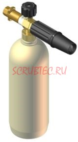 Пенная насадка LS 3 для бытового Karcher с латунным входом - фото 12245