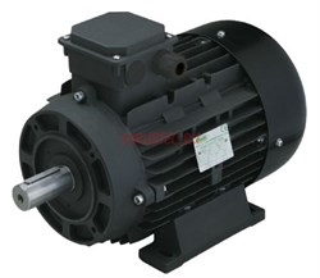 Двигатель 5,5 кВт 380B, H112  вал d28мм с напольной установкой - фото 13192
