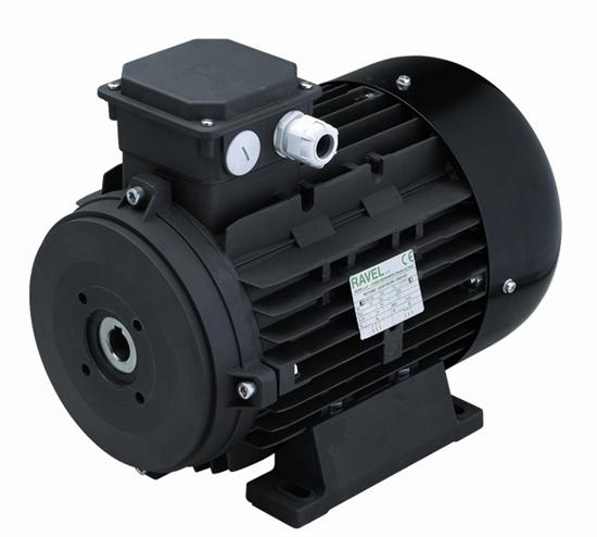 Двигатель 11 кВт H132L полый вал d 24 мм с напольной установкой - фото 13322