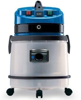 MEC IDROCLEAN Ковровый экстрактор, пласт. бак, водн. НЕРА-фильтр, 1 турб, 27 л, бак для химии 6,2 л. - фото 16228