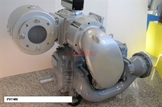 Насос вакуумный JUROP PVT400, левое вращение, гладкий вал под шпонку - фото 16723