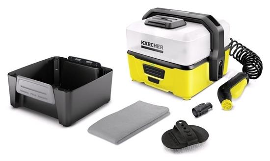 Мобильная минимойка Karcher OC 3 С комплектом для очистки животных - фото 22986