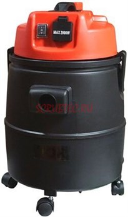 Пылесос для сухой и влажной уборки WL092A-30LPS PLAST (с розеткой и со сливом) - фото 29398