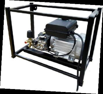 Аппарат высокого давления MLC-C D 2117 P c E3B2515 (на раме) Total Stop - фото 29426