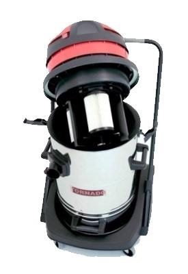 Промышленный пылесос Soteco TORNADO 600 MARK NX 3FLOW Inox - фото 30262