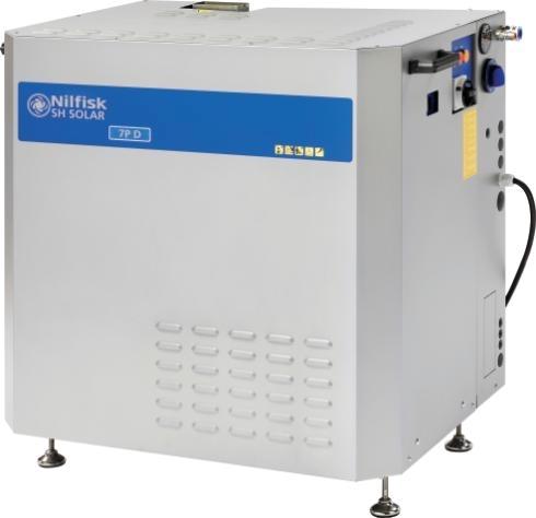Стационарный аппарат высокого давления Nilfisk SOLAR BOOSTER 8-103D 400/3/50 - фото 7384