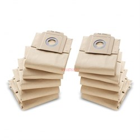 Бумажные фильтр-мешки Kaercher,10 шт. Бумажные фильтр-мешки Kaercher,10 шт. 69043330 - фото 7833