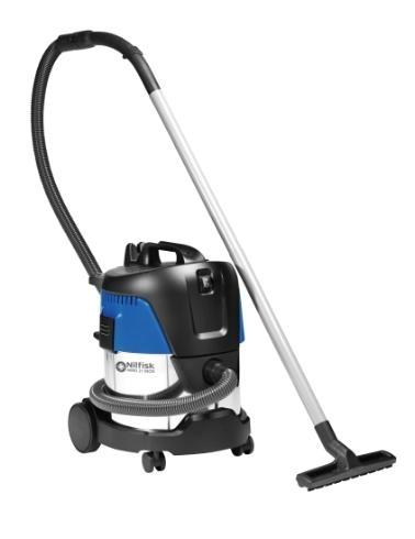 Пылесос для сухой и влажной уборки Nilfisk AERO 21-01 PC INOX - фото 9170