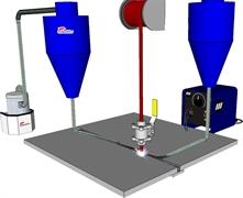Промышленный пылесос  DELFIN DIRECT X AF 20