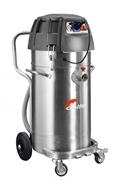 Промышленный пылесос Mistral 802 WDP с нержавеющим баком и выкачивающей помпой